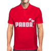 PANDA™ - Puma brand logo parody Asian animal cute bear funny gift tee Mens Polo