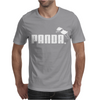PANDA™ - Puma brand logo parody Asian animal cute bear funny gift tee Mens T-Shirt