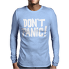 PANIC DONT Mens Long Sleeve T-Shirt