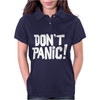 PANIC DONT Womens Polo