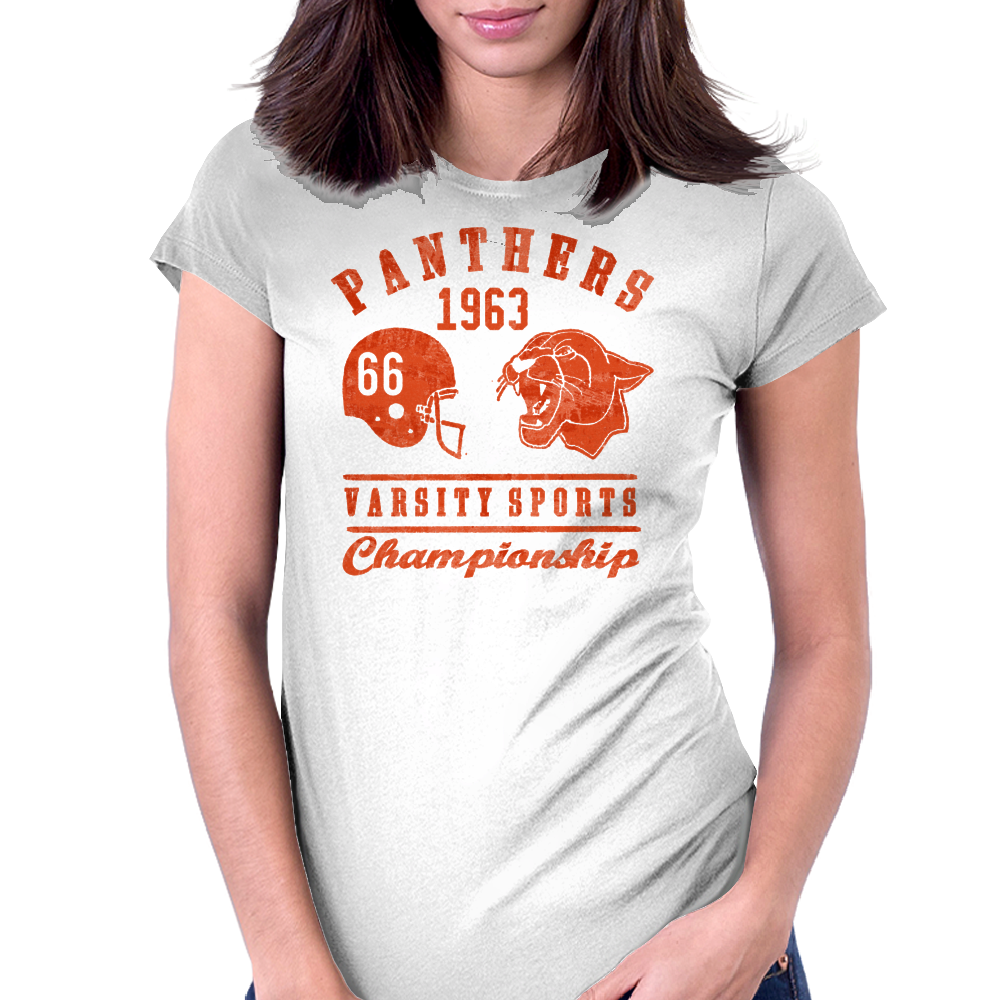 Panthers Womens Fitted T-Shirt