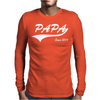 Papa Since 2016 Mens Long Sleeve T-Shirt