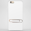 paperclip painting Phone Case