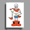 Papyrus drawing Poster Print (Portrait)