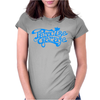 Paradise Garage Sign Womens Fitted T-Shirt