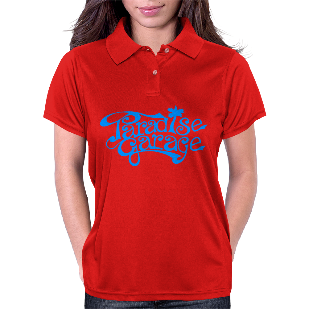 Paradise Garage Sign Womens Polo