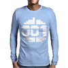 Paradroid Retro Commodore 64 8 Bit Gamer Mens Long Sleeve T-Shirt