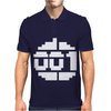 Paradroid Retro Commodore 64 8 Bit Gamer Mens Polo