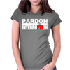 Pardon The Interruption Womens Fitted T-Shirt