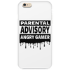 Parental Advisory Angry Gamer Phone Case