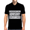 Parental Advisory,,,, Mens Polo