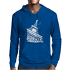 Paris France Eiffel Tower Mens Hoodie