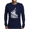 Paris France Eiffel Tower Mens Long Sleeve T-Shirt