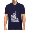 Paris France Eiffel Tower Mens Polo