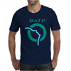 Paris Metro Ratp Subway Graffiti Mens T-Shirt