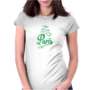Paris Script Eiffel Tower French France Womens Fitted T-Shirt