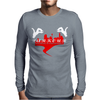 Parkour Jump Freestyle Mens Long Sleeve T-Shirt