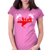 Parkour Jump Freestyle Womens Fitted T-Shirt