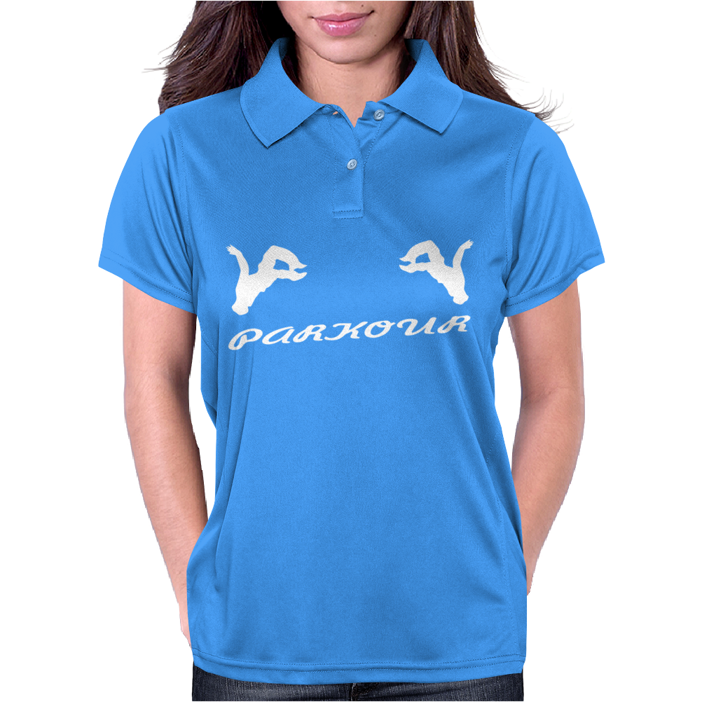 Parkour , sport,jump, Womens Polo