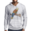 Parrot color art Mens Hoodie