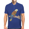 Parrot color art Mens Polo