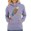Parrot color art Womens Hoodie