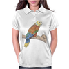 Parrot color art Womens Polo