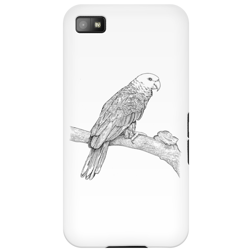 Parrot illustration Phone Case