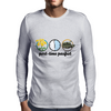 part-time pacifist Mens Long Sleeve T-Shirt
