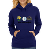 part-time pacifist Womens Hoodie