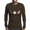 Part-time vegetarian Mens Long Sleeve T-Shirt