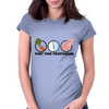 Part-time vegetarian Womens Fitted T-Shirt