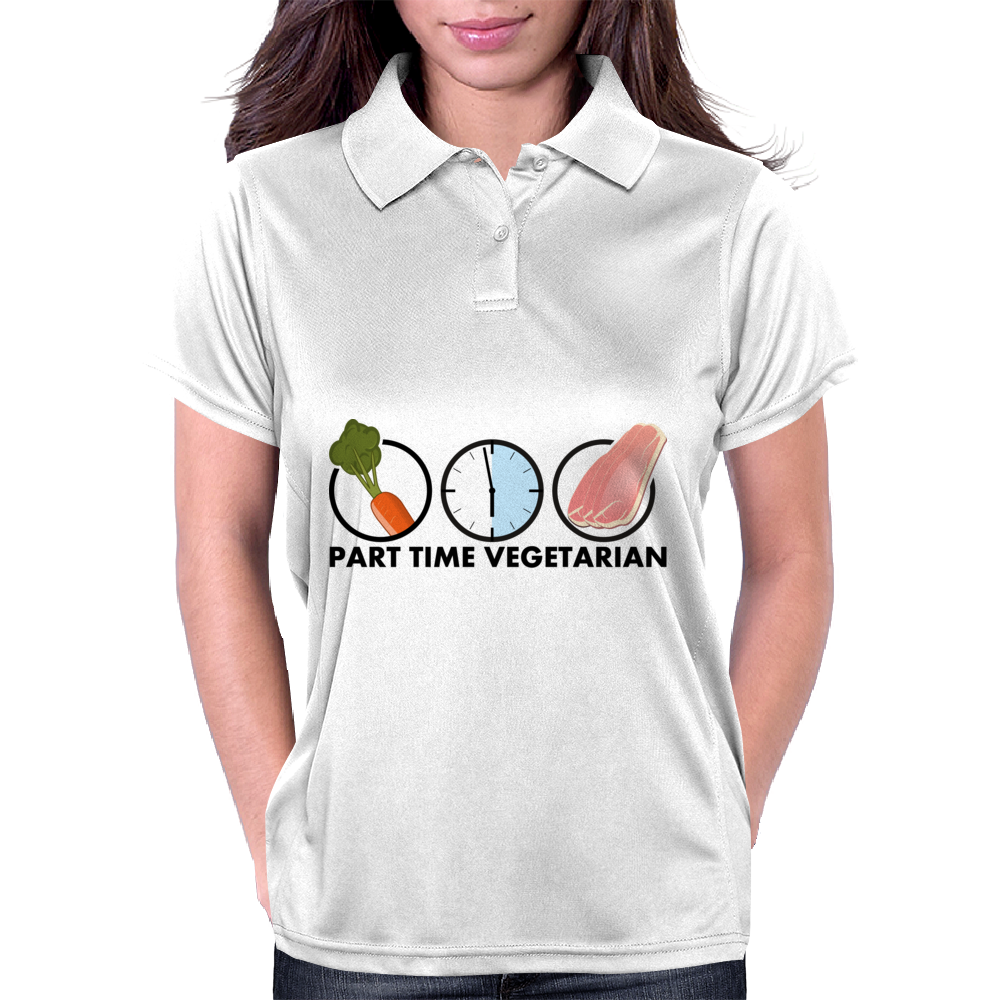 Part-time vegetarian Womens Polo
