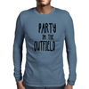 Party in the Outfield Mens Long Sleeve T-Shirt