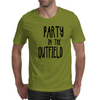 Party in the Outfield Mens T-Shirt