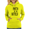 Party in the Outfield Womens Hoodie