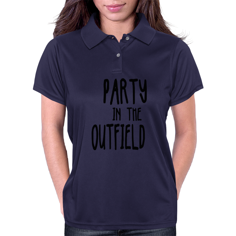 Party in the Outfield Womens Polo