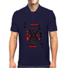 Party King design Mens Polo