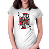 Party King design Womens Fitted T-Shirt
