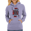 Party King design Womens Hoodie