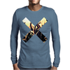 PARTY MUSIC X Mens Long Sleeve T-Shirt