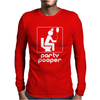 Party Pooper Mens Long Sleeve T-Shirt
