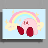 Pastel Kirby - Kirby Poster Print (Landscape)