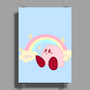 Pastel Kirby - Kirby Poster Print (Portrait)