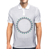 Pastel Ring Mens Polo