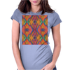 Pattern No.17 Womens Fitted T-Shirt