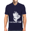 Patti Smith Punk Retro Mens Polo