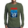 Paws Funny Mens Long Sleeve T-Shirt