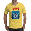 Paws Funny Mens T-Shirt