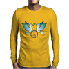 Peace and Love Mens Long Sleeve T-Shirt